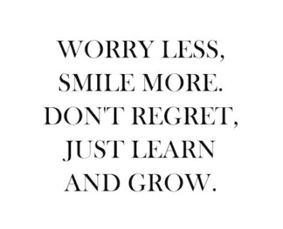 Worry Less, Smile More...