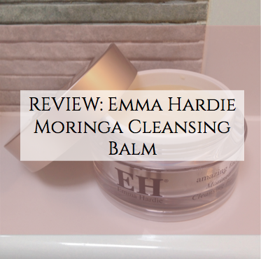 review emma hardie cleansing balm