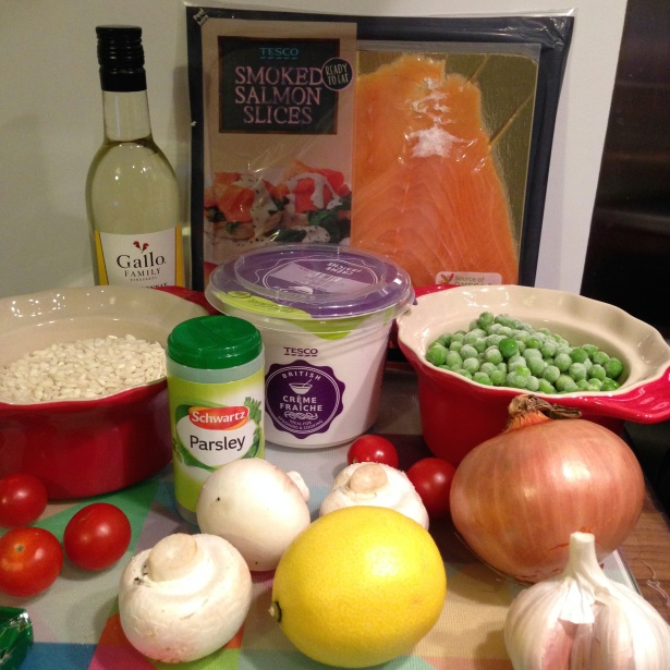Katie's Risotto Recipe Ingredients