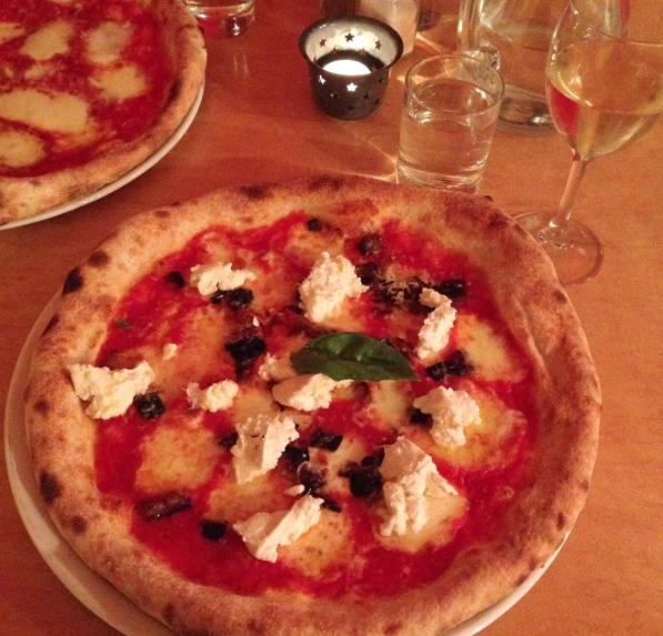Alla Norma pizza at Yammo