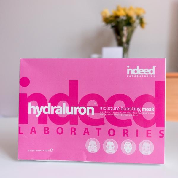 Indeed Lab Hydraluron Masks | Katie Woo