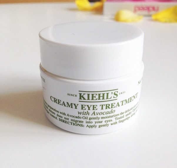Kiehl's Creamy Eye Treatment | Katie Woo