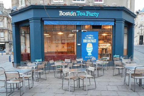 Boston Tea Party Kingsmead Square, Bath