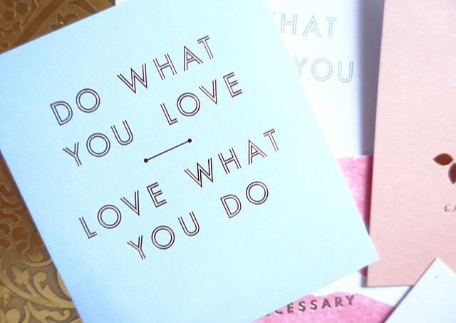 Quote Card Kikki K